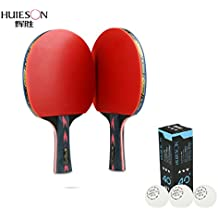 5 estrellas tenis de mesa raqueta doble Shot carbono King en la Beat tenis de mesa