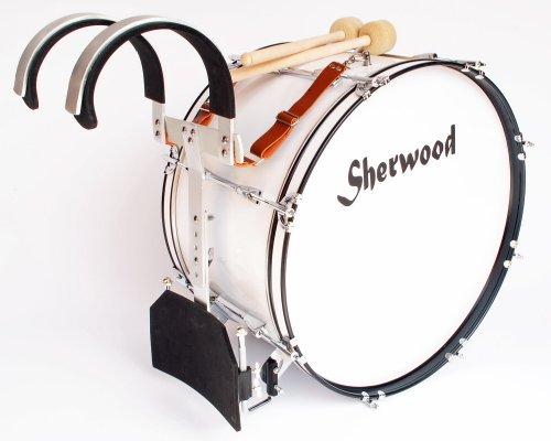 """56 cm (22"""") Marching Bass Drum + Tragegestell + Zubehör"""