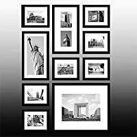 PF Frame Collection Nero New York Photo Wall Set di 10