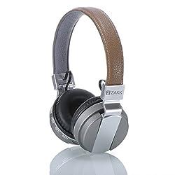 Zakk Hunter Wireless Bluetooth Headphones with Mic (Tan)