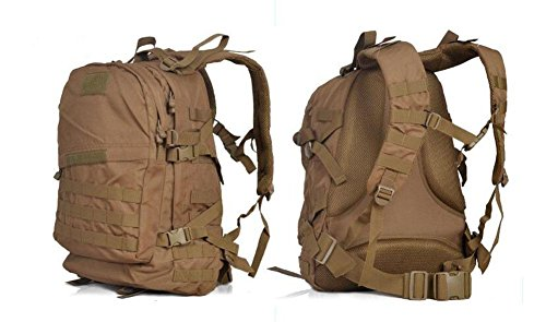 DONG Outdoor-Camo Armee Rucksack Tasche UNS milit?rische Kampfbereitschaft Kit Taschen 3