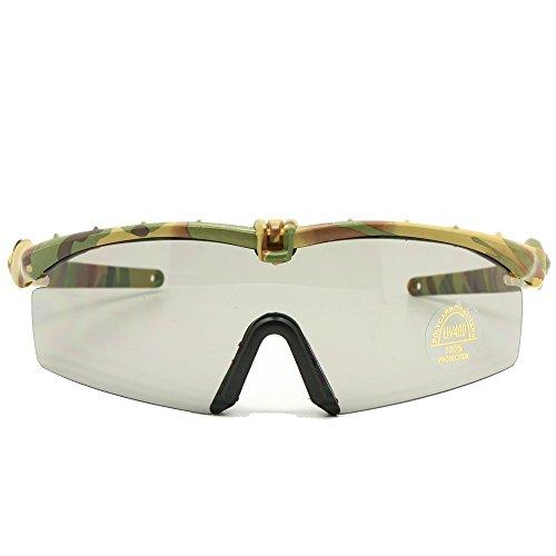 EnzoDate übergang photochromic polarisierten Armee militärische Brille Sonnenbrille ballistische männer Bild 3/4 - Spiel eyeshields gegen Krieg