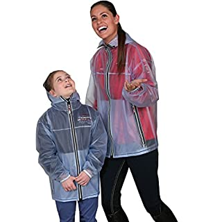 Amesbichler Rain Jacket Shelly Transparent for Women's and children's | | Riding Jacket