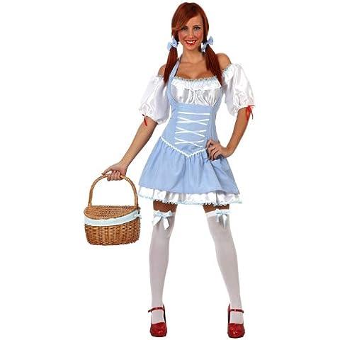 Atosa - Disfraz de campesina para mujer, talla XL (12290)