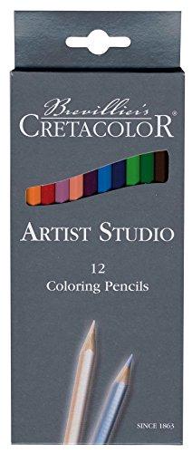 Cretacolor–k280.12–Set 12Bleistifte Farben–Bunststifte