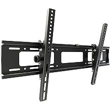 RICOO Soporte de pared para TV R07 soportes de pared para TV Inclinación LCD LED soportes para televisores 74 - 165cm (30' - 65') VESA max. 720x450 universal adecuado para todo televisores - Distancia de la pared solo 65 mm