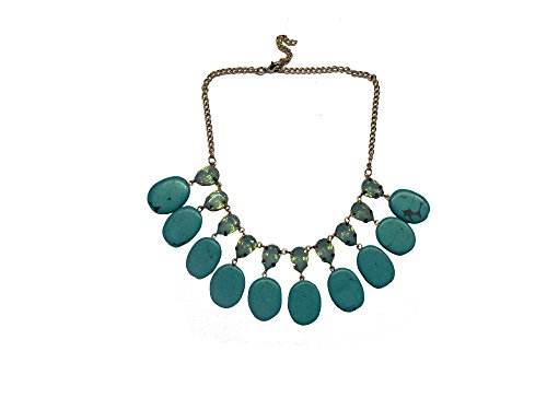 sempre-london-women-fashion-18ct-gold-plated-natural-green-stones-sensation-necklace-for-women