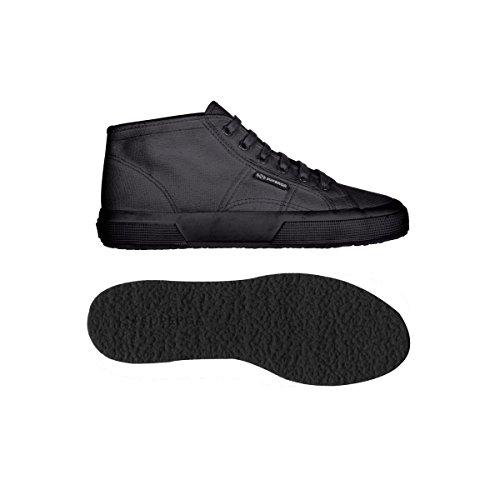 Superga 2754 Cotu, Herren Sneaker Total Dk Grey