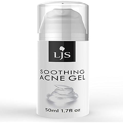 Acné gel calmante - Spot eficaz tratamiento - Trata el nuevo spot de acné cicatrices de acné - Ayuda Existente - atascado con nutrientes importantes - refrescante aroma - Reparaciones & apacigua.