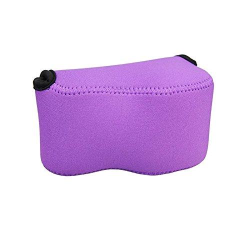 O.N.E. OC-S1 Funda Ultra ligero de neopreno (Púrpura) - Sony A5000, A5100,...