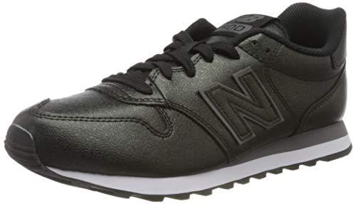 New Balance 500, Zapatillas para Mujer, Negro Black/Black Black/Black, 40 EU