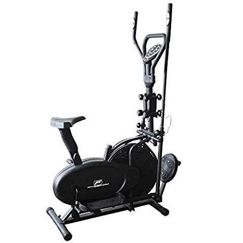 Fitnessform® T130 Cross Trainer 6-in-1 Fitness Elliptical Exercise Bike with Weights