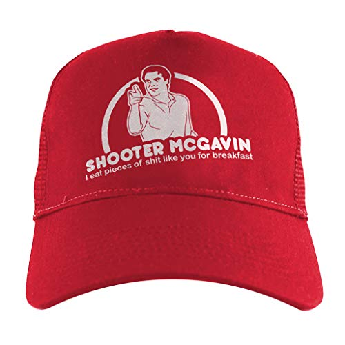 Breakfast Kostüm Club - Happy Gilmore Shooter McGavin Breakfast Quote, Trucker Cap