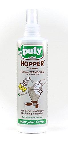Bio-Reiniger-Spray für Kaffeemühle & Chromteile von Puly Grind 200 ml / Hopper Cleaner / Made in...