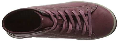 Softinos Isleen - Baskets Hautes Athlétiques, Femme Violette (violet (magenta))