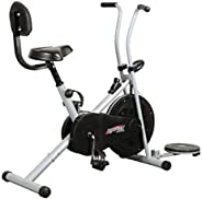 Healthex HX100 Exercise Gym Cycle 1001 with Back Support and Twister || for Home Use