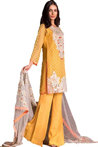 Genuine Pakistani Imported Unstitched Dress Material by Floss Collection Embroidered