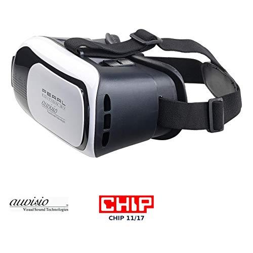 auvisio VR Brillen: Virtual-Reality-Brille VRB58.3D für Smartphones, 3D-Justierung (3D-VR-Brillen für Smartphones)