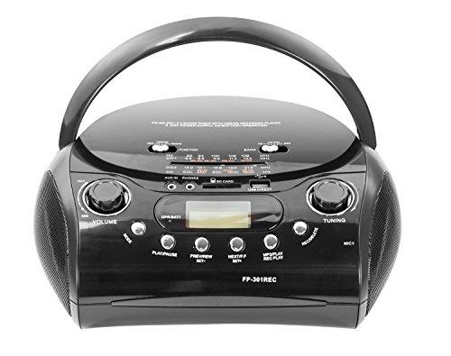 Radio con lettore/registratore MP3-USB e porta scheda SD
