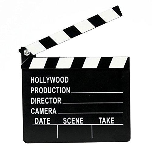 STOBOK Clapper Board Movie TV Cut Action Szene Clapper Board Schiefer Spielzeug für Kinder Kinder