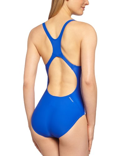 Adidas costume da bagno per donna Infinitex 3-Stripes Blu cobalto/Bianco