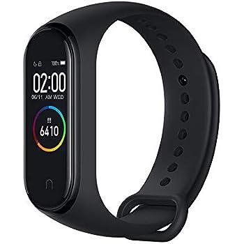 Xiaomi Mi Band 4 Pulsera de Actividad,Monitores de Actividad,Pantalla Pulsómetro Fitness Tracker, Pulsera Smartwatch con 0.95 Pantalla AMOLED a ...