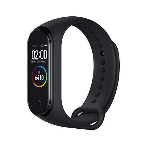Xiaomi Mi Band 4 Fitness Tracker, 0.95 Inches, Colour, AMOLED Display, Heart Rate Monitor, 50 Metres,...