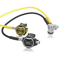 Régulateur de respiration apeks xTX 100 avec xTX 40 oktopus- testé et monté.