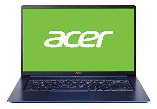 Acer Swift 5 | SF515-51T-52YA - Portátil Ultrafino 15.6' FHD IPS multitáctil (Intel Core i5-8265U, 8 GB de RAM, 256 GB SSD, Intel UHD 620, Windows 10 Home) Azul - Teclado QWERTY Español