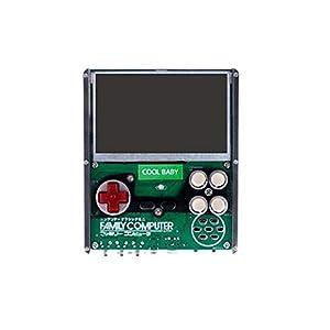 GAME Maple Retro Handheld-Spielekonsole, X7 rot und weiß Maschine eingefügt Gelbe Kartenspielkonsole 8-Bit-FC voll integriert, DIY-Handkarte