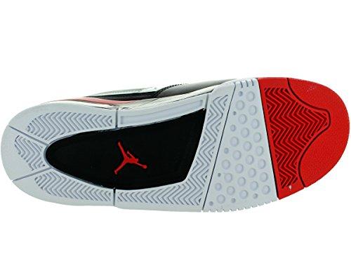 Nike Jordan Flight 23, Chaussures de Basketball homme Black - Grey Mist-University Red-White