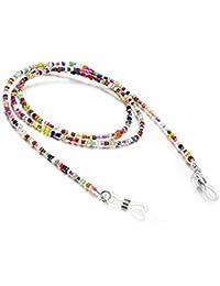 Gafas de retención de cadena, multicolor, cadena de cordón, 1 pieza (colorida)
