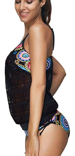 EmilyLe Donne Sexy Bikini Sets Moda Costume Multicolore Tankinis Colorful1
