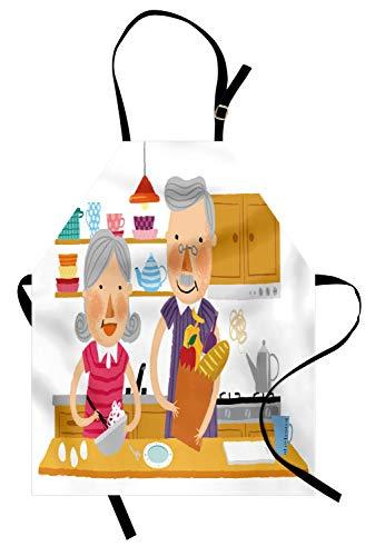 ABAKUHAUS Abuelo Delantal de Cocina