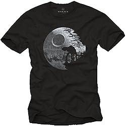 Camisetas Frikis - Hombre Negra XXL