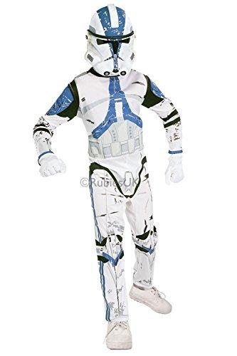 Kinder 501st KLON TROOPER Rubies NEU Offizieller Star Wars Maskenkostüm - S - 98 - (Star Wars Kostüme 501st)