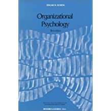 Organizational Psychology (Foundations of Modern Psychology) by Edgar H. Schein (1979-12-01)