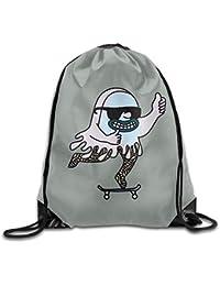 gthytjhv Bolsa con cordóns Gym Bag Travel Backpack, Sunglasses Skate Print, Gym Mochila con