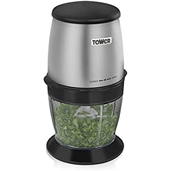 Tower Coffee And Spice Grinder With Stainless Steel Dual Blades 550 Ml 300 W Stainless Steel