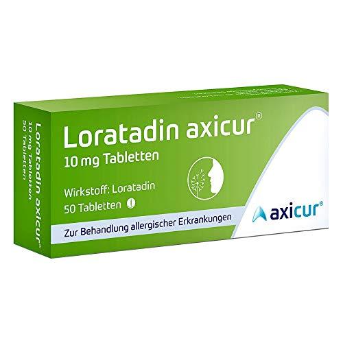 10 Mg 20 Tabletten (Loratadin axicur 10 mg Ta 20 stk)