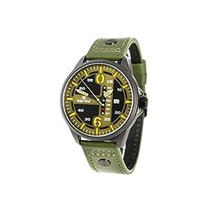 Oskar Emil 's Yukon multifunción Reloj con Fecha y día Indicación