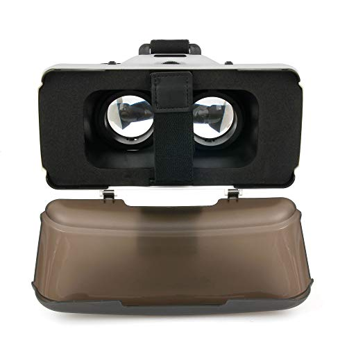 DURAGADGET Für HTC U Play | One A9s | U 11: virtuelle VR-Brille und Smartphone-Objektiv 3D Kamera-Linse Stereoscopic für Spiele Aufnahmen Videos in 3D (Smartphone-kamera-objektiv-htc One)