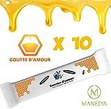 10 dosettes de Miel du Soudan et Gelée Royale de 10 grammes chacune. Pour retrouver vigueur et énergie.