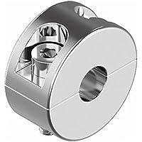 HEAVYTOOL Drahtseil Klemmring 2mm - 5mm Edelstahl [2 Stück] Seilstopper A4 AISI 316 Inox