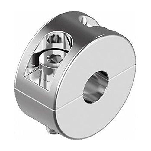 HEAVYTOOL Drahtseil Klemmring 5mm Edelstahl [2 Stück] Seilstopper A4 AISI 316 INOX