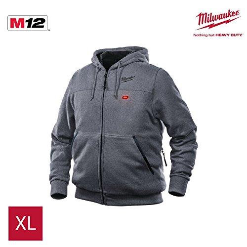 Milwaukee M12Hhgrey2 Sudadera calefactada gris