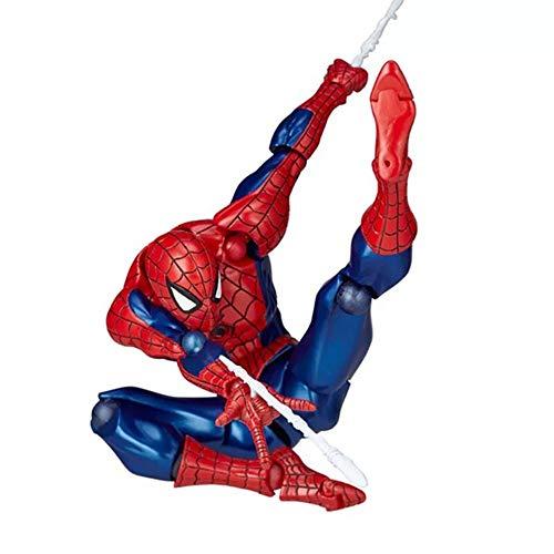 MKKSB Marvel Avengers 3 Spider-Man Action Figures by 7 Inches, Spider-Man Children's Toys (Mobile Furniture) - Ocean Hall Yamaguchi Spiderman