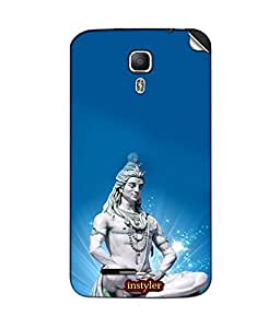 instyler MOBILE STICKER FOR MICROMAX JUICE A177