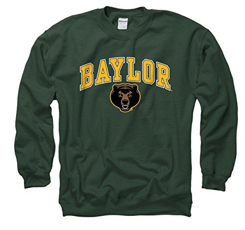 Farben Baylor Bears Erwachsene Arch & Logo Gameday Crewneck Sweatshirt, Grün, Herren, Grün, XX-Large ()