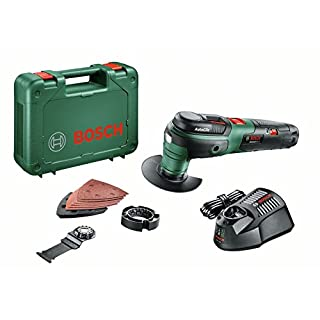 Bosch Akku Multifunktionswerkzeug UniversalMulti 12 (1 Akku, 12 Volt System, im Koffer)